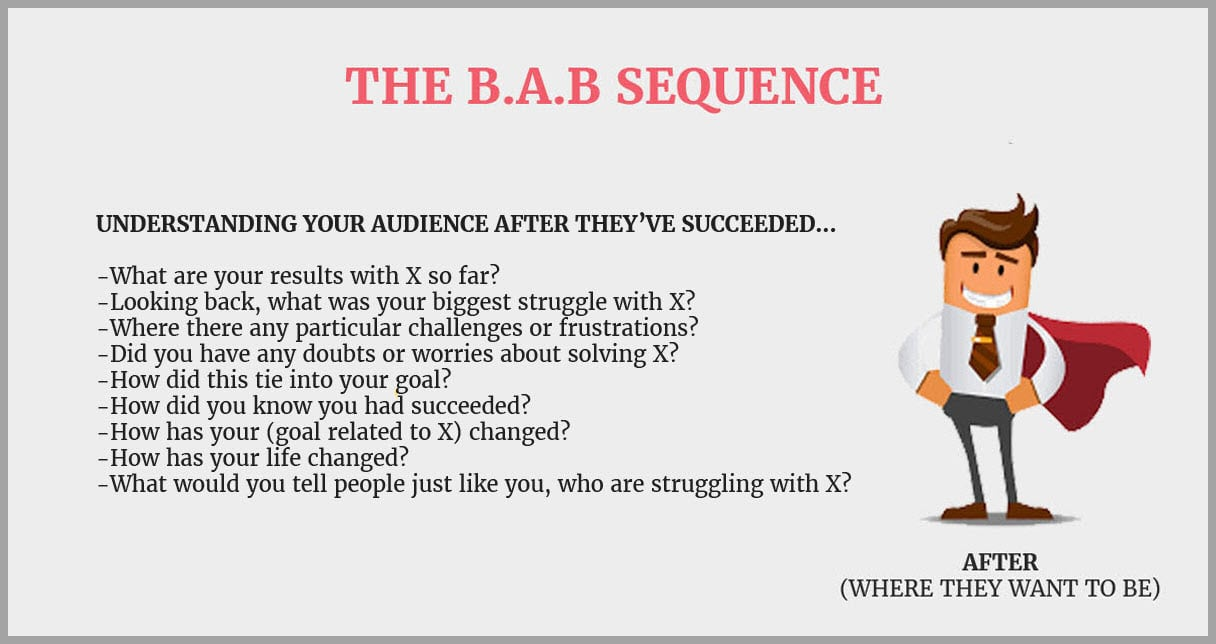 Interview those who are where your audience wants to be